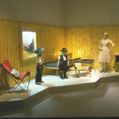 Modern Pioneer Homestead Section, Recreation Room Vignette