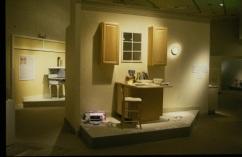 The Millennial Mini Mansion Section, Unfinished Kitchen Vignette
