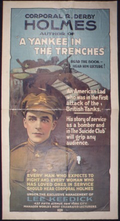 'Corporal_R._Derby_Holmes_author_of_'A_Yankee_in_the_Trenches'._Read_The_Book-_Hear_Him_Lecture^_An_American_lad_who_was_-_NARA_-_512454