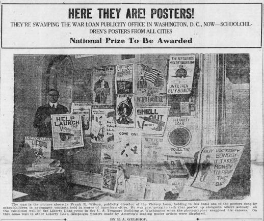 1919 war publicity