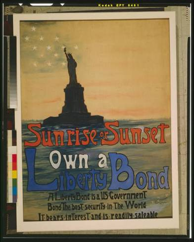 Eugenie De Land, Sunrise or Sunset, 1917 (Library of Congress)