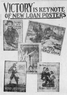 Victory Loan posters