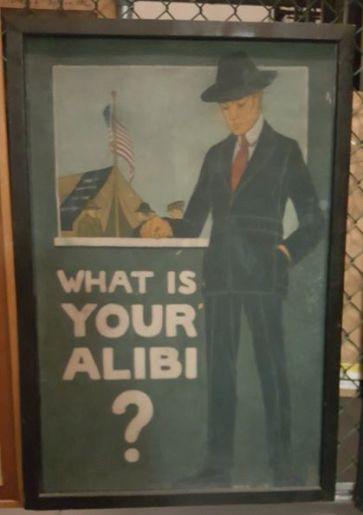 M.A.S., What's Your Alibi, Michigan State University Museum
